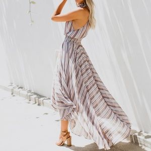 NWT Stripe Smock Dress Vici Collection